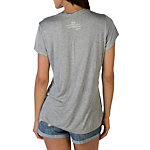 Dallas Cowboys Peace Love World Grey Crew Tee