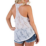 Dallas Cowboys PINK Shrunken Lace Tank