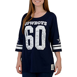 Dallas Cowboys PINK Vintage Crew