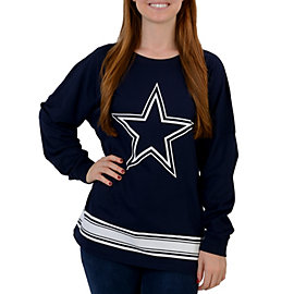 Dallas Cowboys PINK Varsity Crew