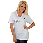 Dallas Cowboys Peace Love World Love You, Mean It Tee