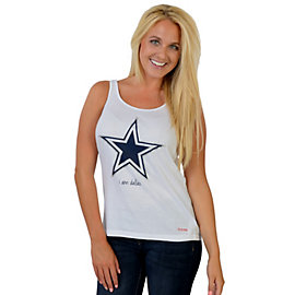 Dallas Cowboys Peace Love World I Am Dallas Tank