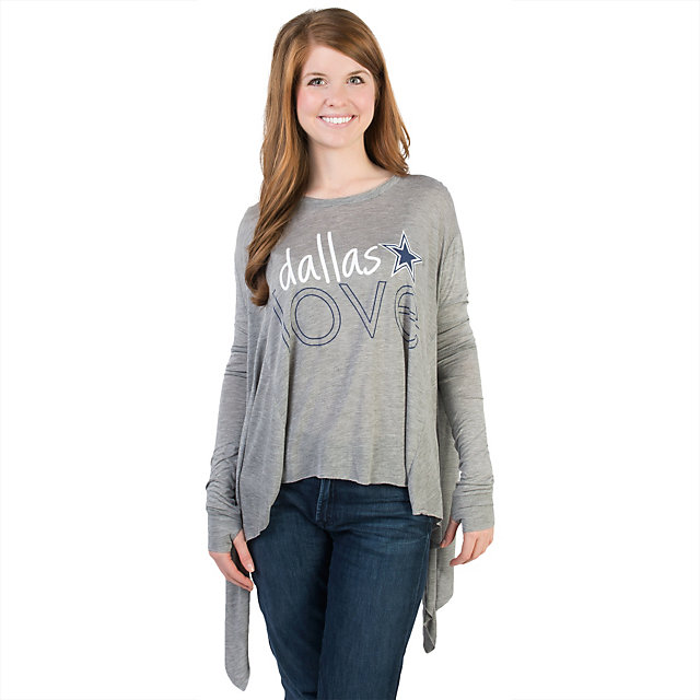 Dallas Cowboys Peace Love World Parachute Top