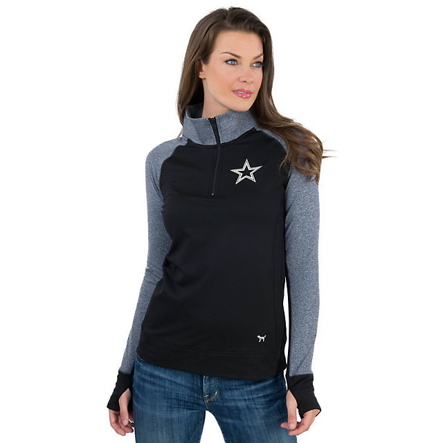 Dallas Cowboys PINK Ultimate Half Zip Jacket