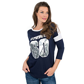Dallas Cowboys PINK Boyfriend Jersey