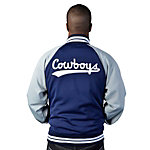 Dallas Cowboys Mitchell & Ness Captain Track Jacket