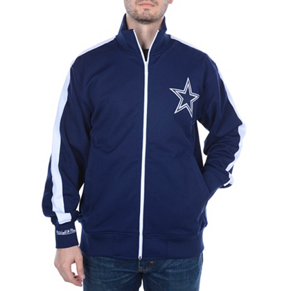Dallas Cowboys Mitchell & Ness Goal Post Track Jacket | Outerwear ...
