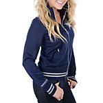 Dallas Cowboys Womens Mitchell & Ness Vintage Track Jacket