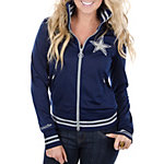 Dallas Cowboys Womens Mitchell & Ness Vintage Track Jacket