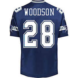 Dallas Cowboys Reebok Woodson Authentic Jersey