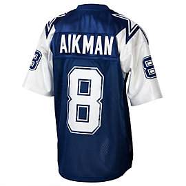 Dallas Cowboys Troy Aikman 1995 Mitchell & Ness Double Star Jersey