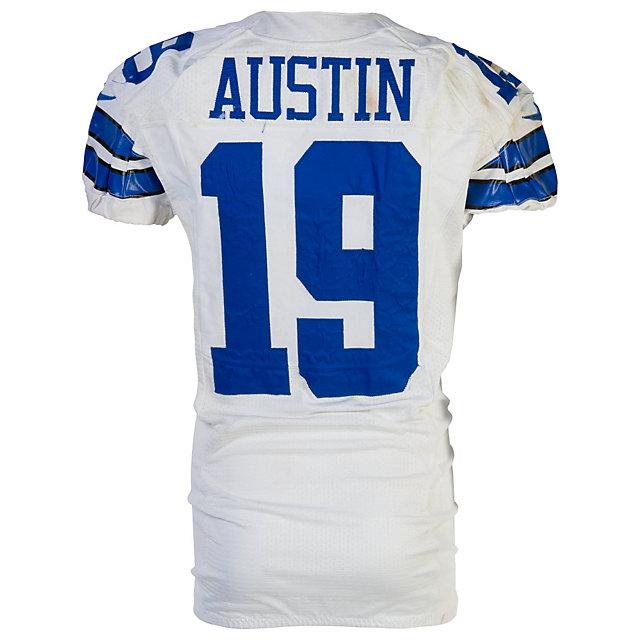 Dallas Cowboys Nike Miles Austin #19 Game Worn 11/24/13 Jersey