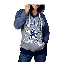 Dallas Cowboys Womens Mitchell & Ness Post Season Hoody