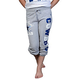 Dallas Cowboys Justice Cuff Fleece Pant