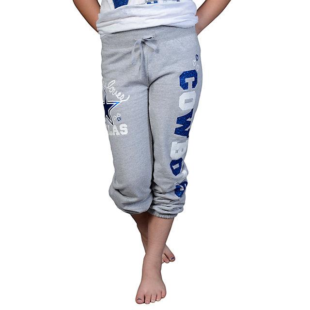 Dallas Cowboys Justice Cuff Fleece Pant