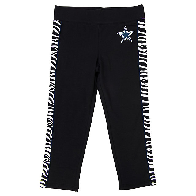 Dallas Cowboys Justice Zebra Yoga Pant