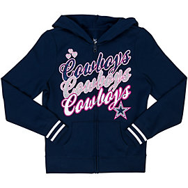 Dallas Cowboys Justice Cowboys Hooded Jacket