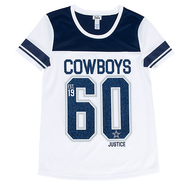 Dallas Cowboys Justice Short Sleeve Mesh Tunic