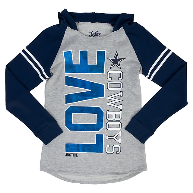 Dallas Cowboys Justice Pullover Sweatshirt