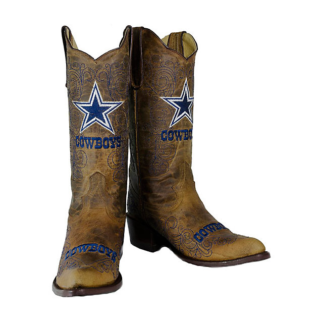 Dallas Cowboys Ladies Vintage Embroidered Boot | Footwear | Other ...