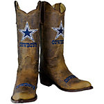 Dallas Cowboys Ladies Vintage Embroidered Boot