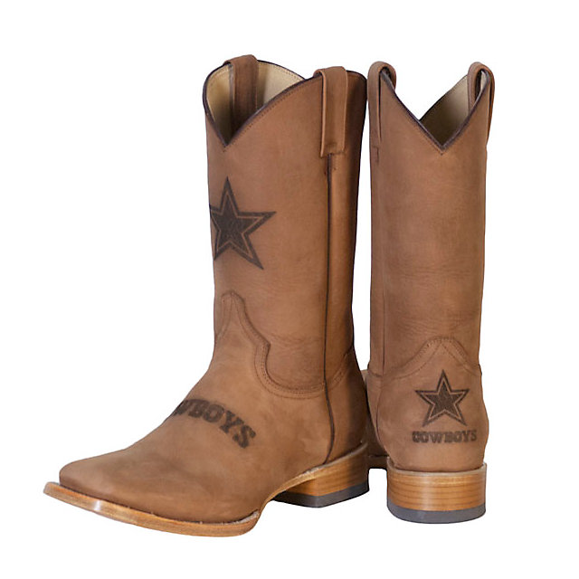Dallas Cowboys Mens Crazy Horse Leather Boot | Footwear | Other ...