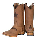 Dallas Cowboys Mens Crazy Horse Leather Boot
