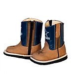 Dallas Cowboys Infant/Toddler Blue Western Work Boot