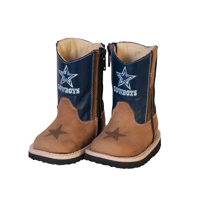 Dallas Cowboys Infant/Toddler Blue Western Work Boot | Kids ...