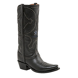 Dallas Cowboys Lucchese Womens Mosaic Persian Art Boot