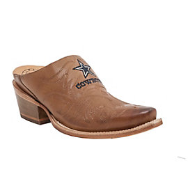 Dallas Cowboys Lucchese Womens Mule Slide