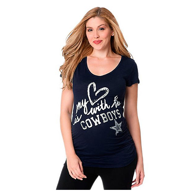 Dallas Cowboys Maternity Love Cowboys Tee