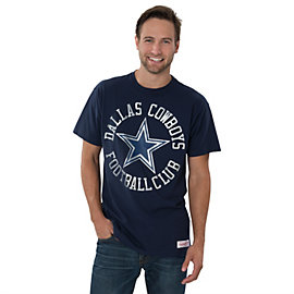 Dallas Cowboys Mitchell & Ness Navy Mens Tee