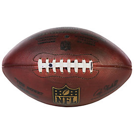 Dallas Cowboys Game Used Football with Ink on Laces