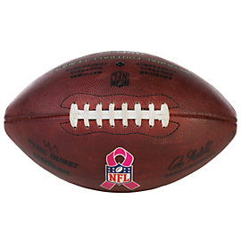 Dallas Cowboys Breast Cancer Awareness Game Used Football with Referee Markings