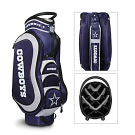 Dallas Cowboys Medalist 14-Way Cart Bag