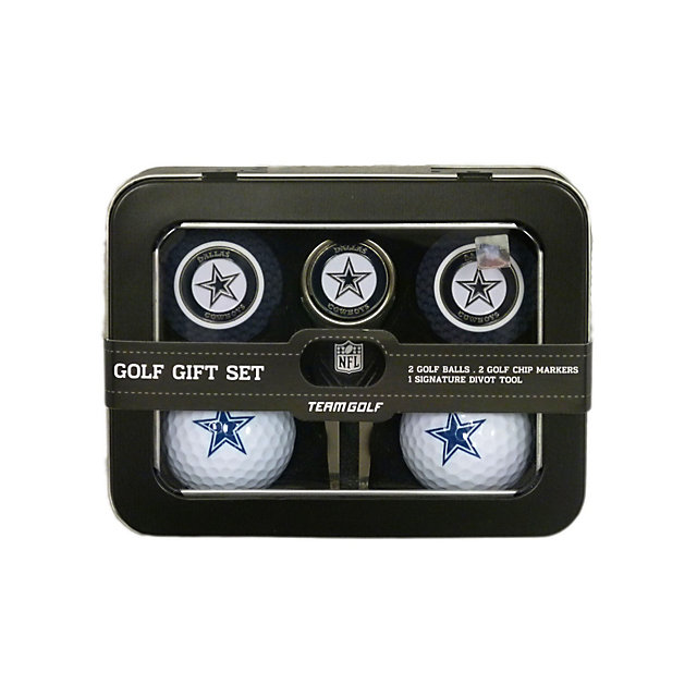 Dallas Cowboys Golf Ball and Marker Gift Set