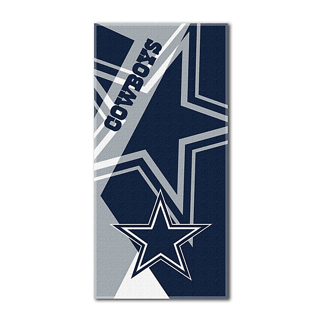 Dallas Cowboys 34 x 72 Puzzle Beach Towel