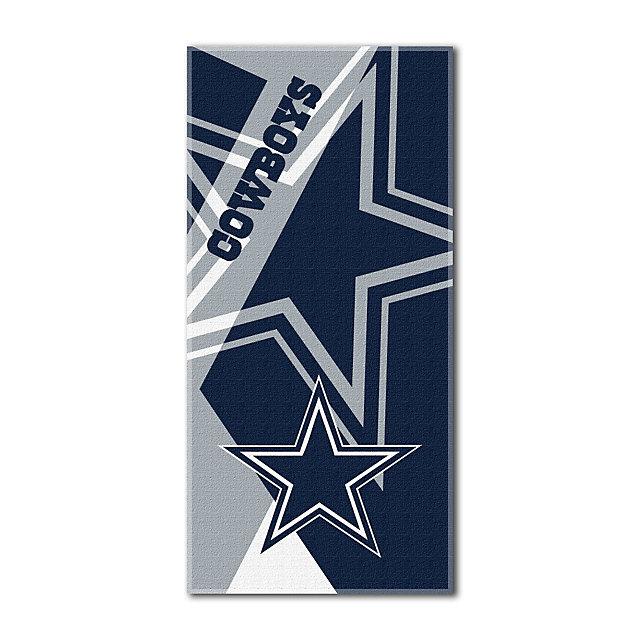 Dallas Cowboys 34 x 72 Puzzle Beach Towel