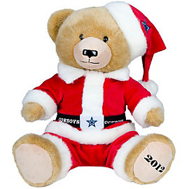 Dallas Cowboys Christmas Bear
