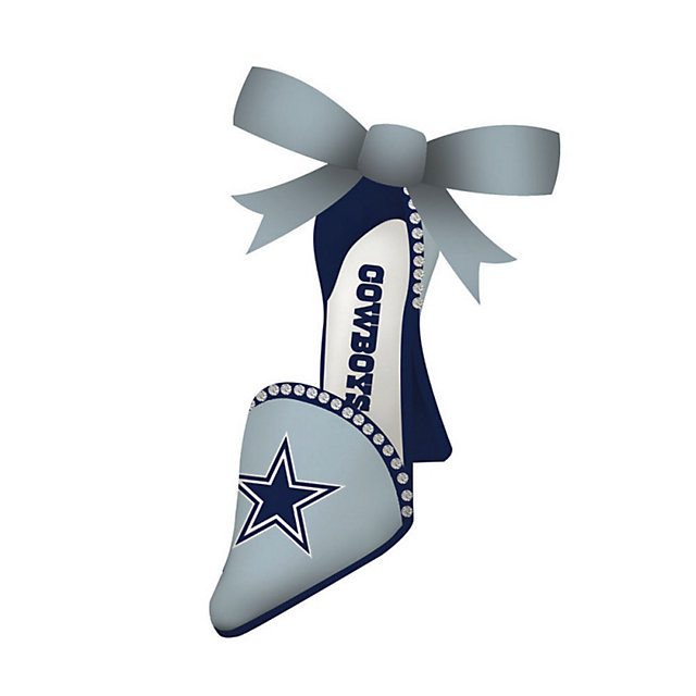 Dallas Cowboys High-Heel Shoe Ornament