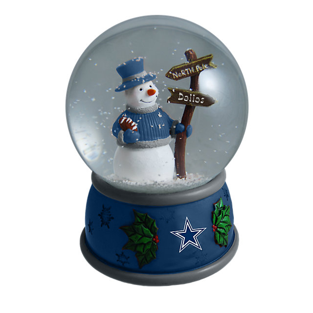 Dallas Cowboys Snow Globe