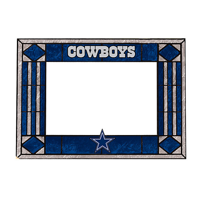 Dallas Cowboys Horizontal Art Glass Frame