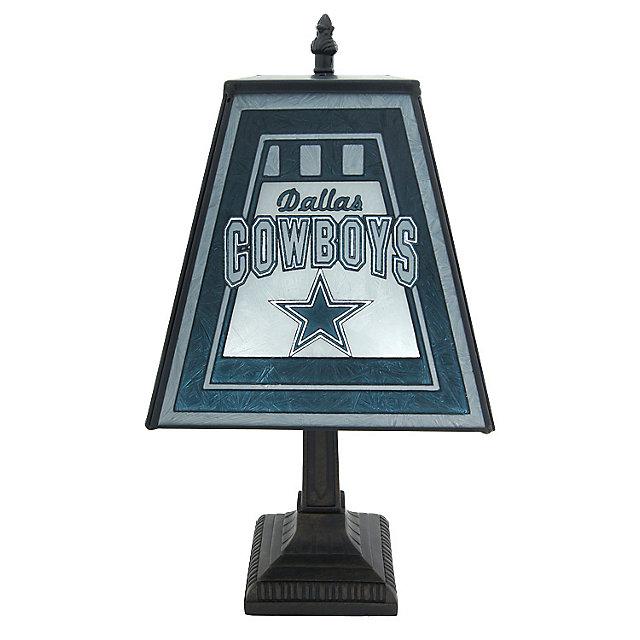 Dallas Cowboys 14-inch Art Glass Lamp