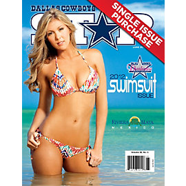 Dallas Cowboys Star Magazine Swimsuit Issue 2012