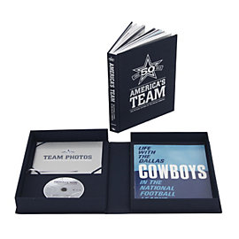 Dallas Cowboys 50th Anniversary Limited Edition Book
