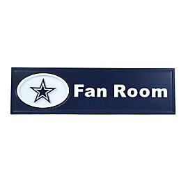 Dallas Cowboys Fan Room Sign