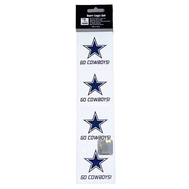 Dallas Cowboys Scrapbook Logo Sticker Set