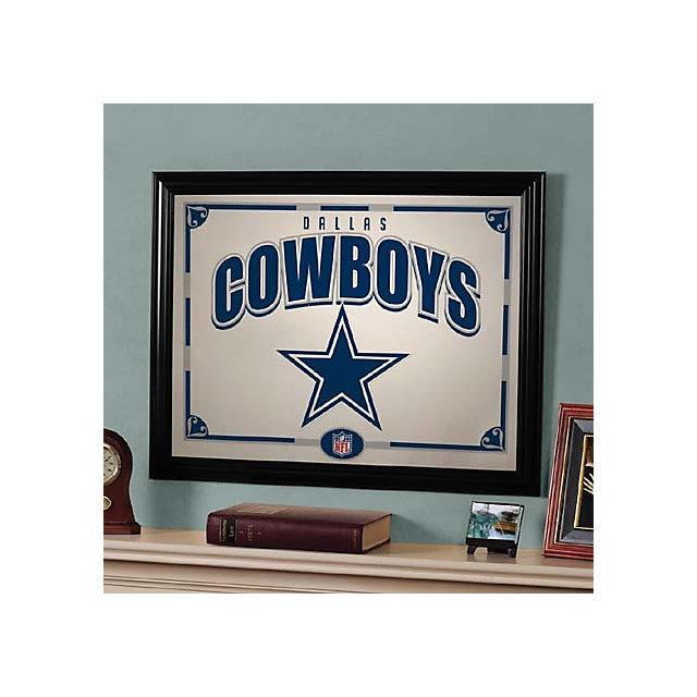 dallas cowboys black framed mirror home decor home home decor wood blocks dallas cowboys cowboys by 417designsia