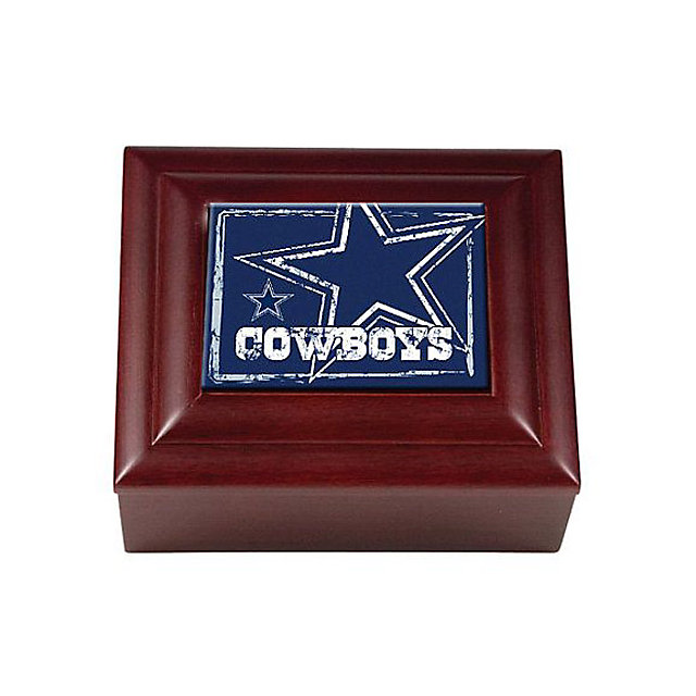 Dallas Cowboys Wooden Keepsake Box